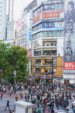 Shibuya Skrzyżowanie Obrazy Stock