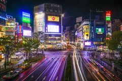 Shibuya Royalty Free Stock Images