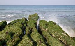 Shicao Laomei побережья Тайваня стоковые изображения rf