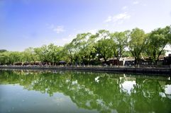 shichahai Пекин старое Стоковое фото RF