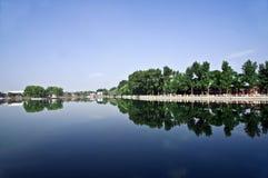 shichahai Пекин старое Стоковое Изображение RF