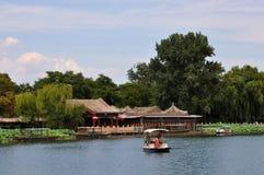 Shichahai area (The Three Rear Lakes ) Stock Photography