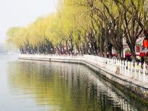 Shichahai lakes, Beijing Royalty Free Stock Photography
