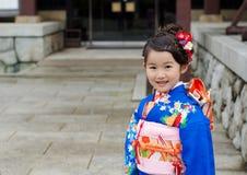 Shichi去圣在成田,日本 免版税库存图片