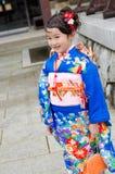 Shichi去圣在成田,日本 库存照片