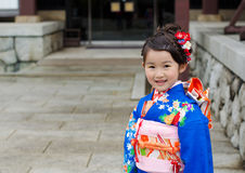 Shichi-go-san in Narita, Japan Royalty Free Stock Image