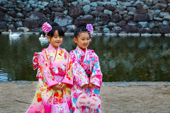 Shichi-go-san; Traditional rite of passage in Japan Royalty Free Stock Image