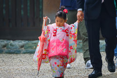 Shichi-go-san; Traditional rite of passage in Japan Stock Images