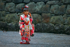 Shichi-go-san; Traditional rite of passage in Japan Stock Photography