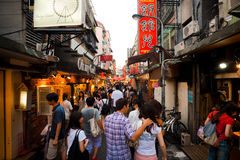 Shida Night Market Royalty Free Stock Image