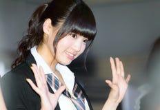 Shida Yumi от группы отрочества Yumemiru стоковые изображения