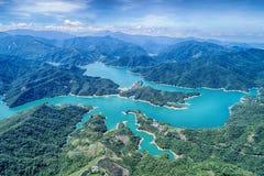 Thousand Island Lake Aerial Photography Stock Photos