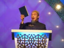 Shiekh Hussain Yee Speech Royalty-vrije Stock Afbeeldingen