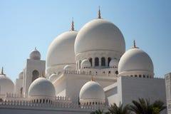 Shiekh Zayad Moschee Stockfoto