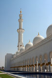 Shiekh Zayad mosque Royalty Free Stock Images