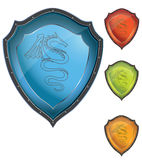 Shield. Easy to resize or change color vector illustration