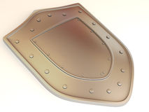 Shield . 3d Royalty Free Stock Photos