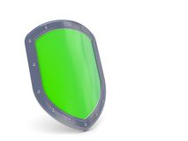 Shield 3D icon Royalty Free Stock Image
