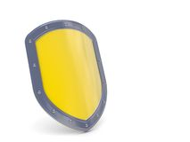 Shield 3D icon Royalty Free Stock Images
