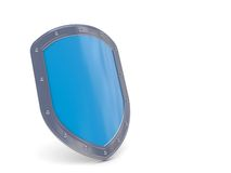 Shield 3D icon Stock Photography