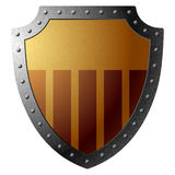 Shield. Vector illustration of a shield Royalty Free Stock Images