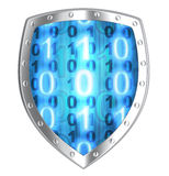 Shield antivirus Royalty Free Stock Image