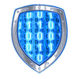 Shield antivirus Stock Photo