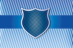 Shield background. Colored shield background candy style Royalty Free Stock Images