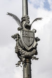 Shield of Barcelona Royalty Free Stock Image