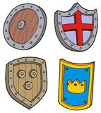 Shield collection Stock Images