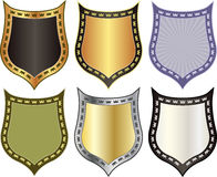 Shield with crowns Royalty Free Stock Photography