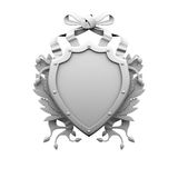 Shield. 3d isolated Royalty Free Stock Photography