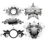 Shield decorative Stock Photography