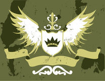 Shield Design Elements Royalty Free Stock Image