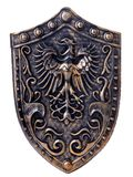 Shield with eagle Stock Photography
