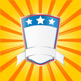 Shield emblem Royalty Free Stock Images