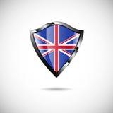 Shield England Royalty Free Stock Photo