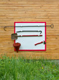 Fire fighting tools stock images