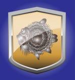 Shield fugu Royalty Free Stock Photos