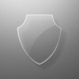 Shield_glass Royalty Free Stock Image