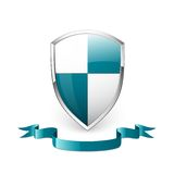 Shield icon Stock Photography