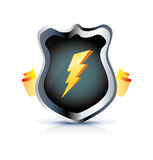 Shield icon Royalty Free Stock Image