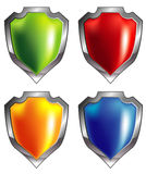 Shield icon Royalty Free Stock Photography