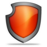 Shield icon Royalty Free Stock Images