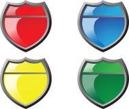 Shield icon Royalty Free Stock Image