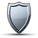 Shield icon isolated. Stock Photos