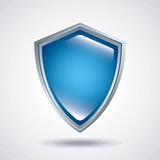 Shield icon. Security system design. Vector graphic Royalty Free Stock Image