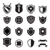 Shield icons. Vector illustration Graphic Design symbol stock illustration