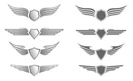 Shield Insignias vector illustration