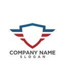Shield Logo Template vector icon design Royalty Free Stock Photos